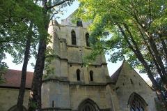 Eglise Saint-Ouen - Français:   Église Saint-Ouen du XVe face sud à Caen (Calvados)