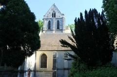Eglise Saint-Ouen - Français:   Église Saint-Ouen du XVe face nord à Caen (Calvados)