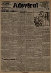 Maison - Română: Adevarul din 15 aprilie 1910