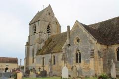 Eglise Saint-Martin de Beneauville - Eglise Saint-Martin à Chicheboville (et non à Béneauville comme le décrit la fiche MH, confusion avec la chapelle Notre-Dame de Béneauville) (Calvados)