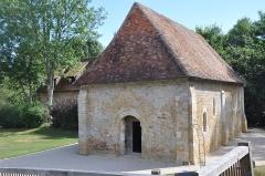 Ancien manoir - English: Castle of Crèvecoeur-en-Auge  (France, Normandy), chapel