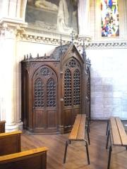 Basilique - Basilique Notre-Dame de la Délivrande, confessionnal