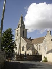 Eglise du Fresne - Français:   l\'église Notre-Dame vue de la rue de l\'église