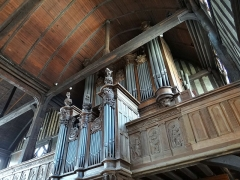 Eglise Sainte-Catherine - orgue, Église Sainte-Catherine, Honfleur