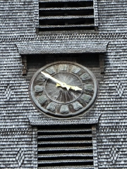 Eglise Sainte-Catherine - horloge du clocher, Église Sainte-Catherine, Honfleur