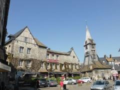 Eglise Sainte-Catherine - Français:   Place de l\'église Ste Catherine à Honfleur (76)