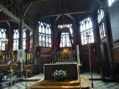 Eglise Sainte-Catherine - choeur, Église Sainte-Catherine, Honfleur