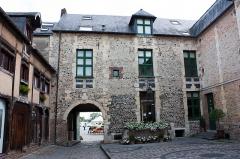 Manoir de Roncheville -  Courtyard of the Roncheville manor.
