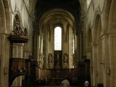 Abbaye Saint-Martin de Mondaye - L'abbatiale de Saint-Martin de Mondaye.
