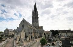 Eglise - Français:   Eglise de Langrune sur Mer, Calvados, France