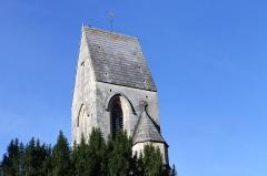 Eglise - Français:   Clocher de l\'église Saint-Vigor de Louvigny (Calvados)