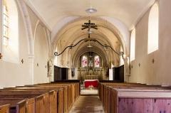 Eglise - Français:  Église Saint-Pierre du Manoir (France).
