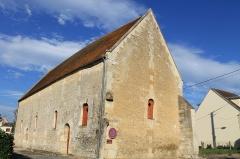 Ancienne abbaye Sainte-Barbe - Français:   Grange aux dîmes de l\'ancienne abbaye Sainte-Barbe au 5 rue Roger-Salengro à Mézidon-Canon (Calvados)