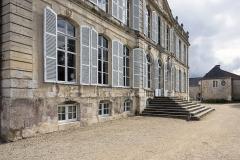 Château de Canon - English: West facade of the castle of Canon, Mézidon-Canon, Normandy, 2017.