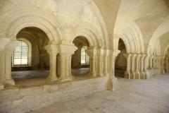 Ancienne abbaye Saint-Etienne-de-Fontenay - Salle capitulaire