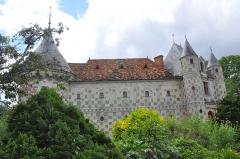 Château, actuellement annexe du musée intercommunal de Lisieux - English: Castle of Saint-Germain de Livet (France, Normandy).