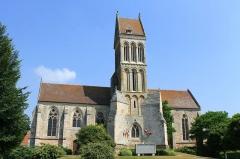 Eglise - Français:   Église Saint-Quentin de Soumont-Saint-Quentin (Calvados)