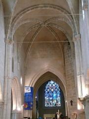 Eglise - Français:   Église Saint-Sauveur de Thury-Harcourt (Calvados, Normandie, France).