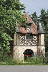 Ancien manoir de Beuvillers - English: Castle of Crèvecoeur (France, Normandy)