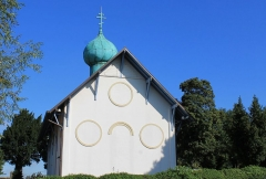 Sanctuaire orthodoxe Saint-Serge - Français:   Église orthodoxe Saint-Serge de Colombelles (Calvados)