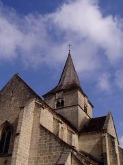 Eglise Saint-Pierre-Saint-Paul -  Clocher tors de l'église d'Aignay-le-Duc en Côte-d'Or