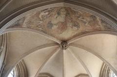Eglise Notre-Dame - Intérieur de l'église Notre-Dame d'Auxonne (21). Voûtes du chœur.