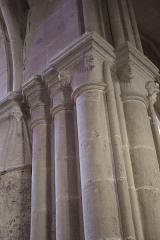 Eglise Notre-Dame - Intérieur de l'église Notre-Dame d'Auxonne (21).