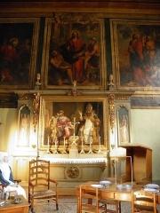 Hôtel-Dieu ou Hospices civils de Beaune - Salle Saint-Hugues aux hospices de Beaune (Côte-d'Or, France).