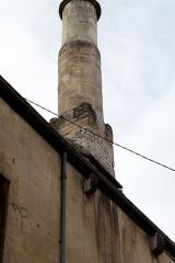 Immeuble dépendant de l'ancien monastère des Chartreux -  Peut-être la partie basse d\'une cheminée classée monument historique sous le numéro PA00112117, à confirmer.