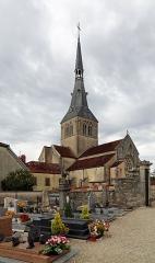 Eglise - Nederlands: Belan-sur-Ource (departement Côte-d'Or, Frankrijk): de Maria-Tenhemelopnemingkerk