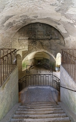 Domaine des anciennes forges - Nederlands: Buffon (departement Côte-d'Or, Frankrijk): de Forges de Buffon, ook genaamd la Grande Forge (de Grote Smederij) - binnengezicht