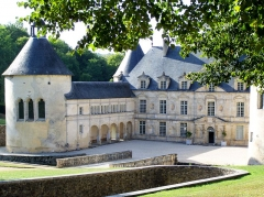 Domaine du château de Bussy-Rabutin - This building is indexed in the Base Mérimée, a database of architectural heritage maintained by the French Ministry of Culture,under the reference PA00112169 .