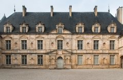Domaine du château de Bussy-Rabutin -  Main building of the castle.