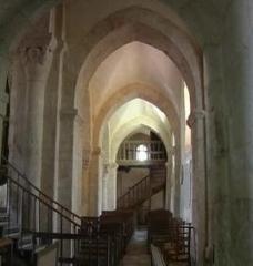 Eglise et son cimetière -  Bussy-le-Grand, Église Saint-Antonin, bas-cote