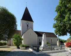 Eglise - Français:   Église de Cessey-sur-Tille. (Côte d\'Or, Bourgogne, France)