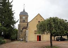 Eglise - Nederlands: Chambolle-Musigny (departement Côte-d'Or, Frankrijk): de Sint-Barbara- en Sint-Sebastianuskerk