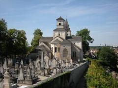 Eglise Saint-Vorles - Français:   L'église Saint-Vorles de Châtillon-sur-Seine (Côte-d'Or) en 2009, peu après sa restauration.