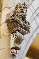 Cathédrale Saint-Bénigne -  La cathédrale Sainte-Bénigne à Dijon en Côte d'Or.