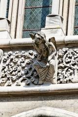 Eglise Notre-Dame - L'église Notre-Dame à Dijon en Côte d'Or.