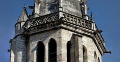 Eglise Saint-Philibert - Gargouilles de l'Église Saint-Philibert, à Dijon (Côte d'Or, Bourgogne, France).