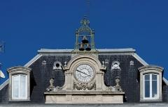 Hôtel de la Cloche - Français:   Détail du toit du Grand hôtel la cloche, place Darcy à Dijon (France)