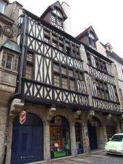 Maison du 15e siècle - English: Dijon, Burgundy, France