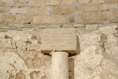 Ancienne abbatiale Saint-Pierre de Flavigny - Crypte de l'abbaye Saint-Pierre de Flavigny-sur-Ozerain (Côte d'Or, Bourgogne-Franche-Comté, France).