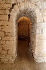 Ancienne abbatiale Saint-Pierre de Flavigny - Français:   Crypte de l\'abbaye Saint-Pierre de Flavigny-sur-Ozerain (Côte d\'Or, Bourgogne-Franche-Comté, France).