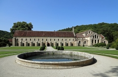 Abbaye de Fontenay - Nederlands: Marmagne (departement Côte-d'Or, Frankrijk): abdij van Fontenay