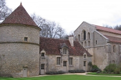 Abbaye de Fontenay - This building is classé au titre des Monuments Historiques. It is indexed in the Base Mérimée, a database of architectural heritage maintained by the French Ministry of Culture, under the reference PA00112529 .