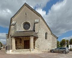 Eglise Saint-Vallier de Messigny - Français:   Église Saint-Vallier à Messigny et Vantoux (Côte d\'Or, France)