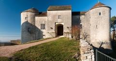 Château -  The castle of Mont-Saint-Jean, Côte-d'Or
