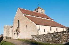 Eglise -  Parrish church's of Mont-Saint-Jean, Côte-d'Or old castle's chapel, rebuilt and enlarged.