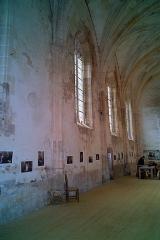Château - Droite de la nef, Chapelle castrale, Pagny-le-Château (Côte d'Or, Bourgogne, France)